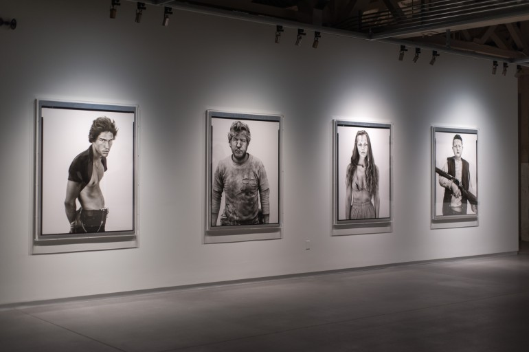 These are some of the larger Richard Avedon prints.